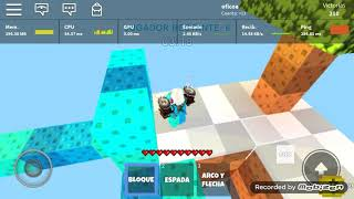 Roblox-like to build fast in skywars