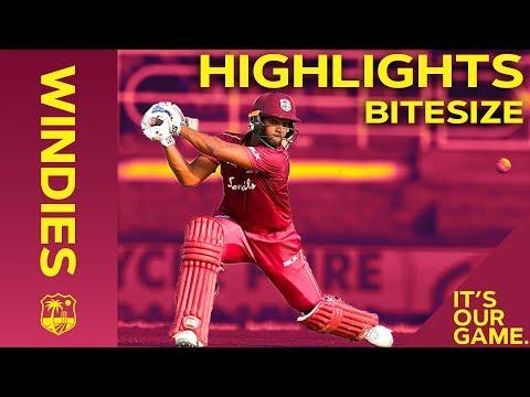 Windies vs India   2nd ODI 2019   Bitesize Highlights