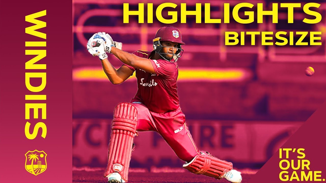 Windies vs India | 2nd ODI 2019 | Bitesize Highlights