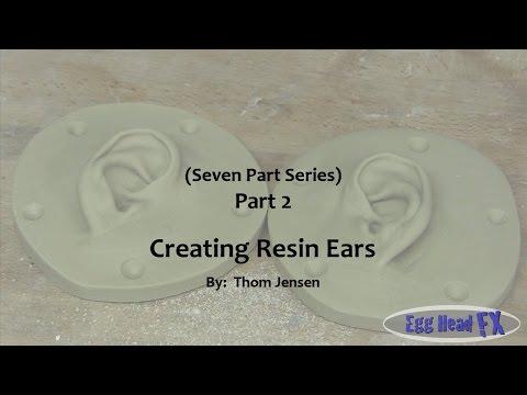 How to Make Elf Ears - Creating Resin Ears (Part 2)