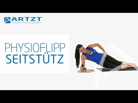 "Video: Pedalo® Arm-/Fußtrainer ""PhysioFlip"" mit Handgriff"