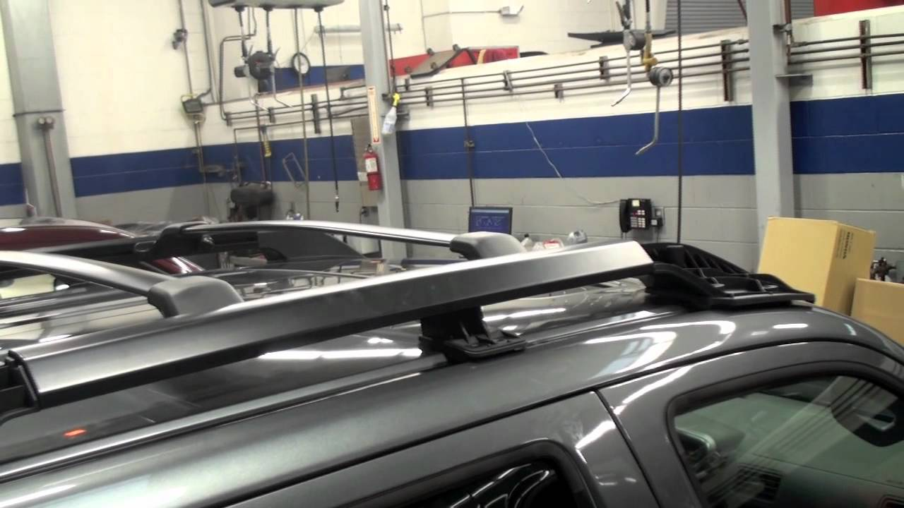 Delightful Ridgeline Roof Rack Installation (Honda Answers #71)   YouTube