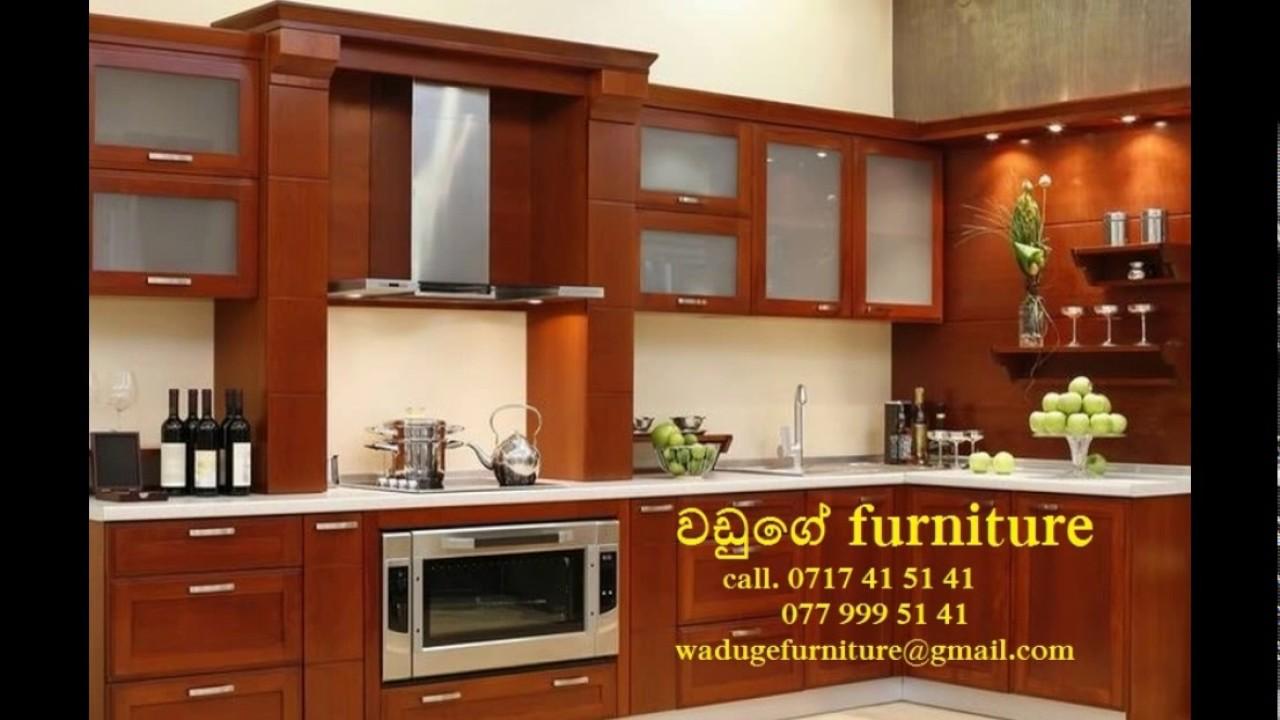 Modern pantry design waduge furniture youtube for Kitchen designs sri lanka