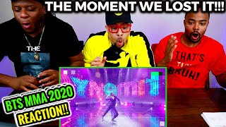 We Just LOST IT!! | BTS MMA 2020 Live Performance REACTION