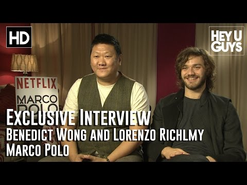 Benedict Wong and Lorenzo Richlmy Interview - Marco Polo