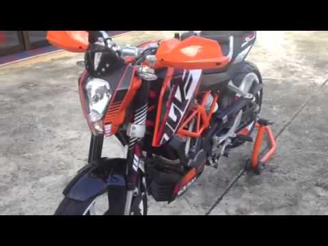 ktm duke 200 abs - youtube
