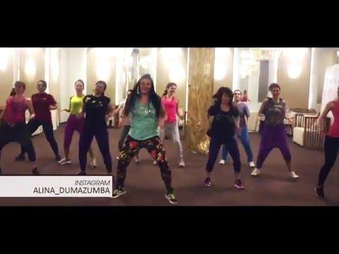 ALINA DUMA:  MU JO by SKALES(african style choreography, Zumba® fitness)