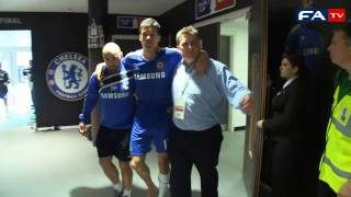 FA Cup Final 2010 - FA Cup Tunnel Footage