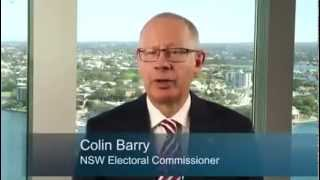 Electoral Commission NSW 2015 State Election Staff Training Program Introduction Video