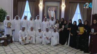 هزاع بن زايد للفائزين من فريق تلفزيون أبوظبي: نريد إعلاماً يعبر عن روح البلد