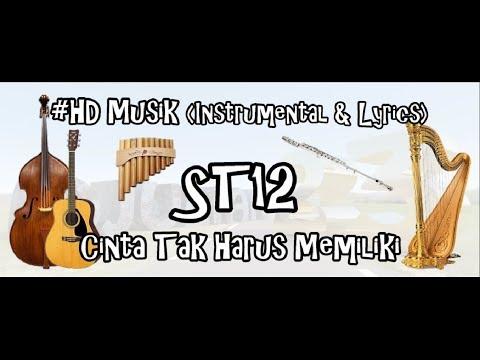 ST12 - CINTA TAK HARUS MEMILIKI | HD MUSIK 4K VIDEO (INSTRUMENTAL & LIRYCS) COVER