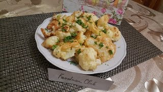 Цветная капуста в кляре: рецепт от Foodman.club