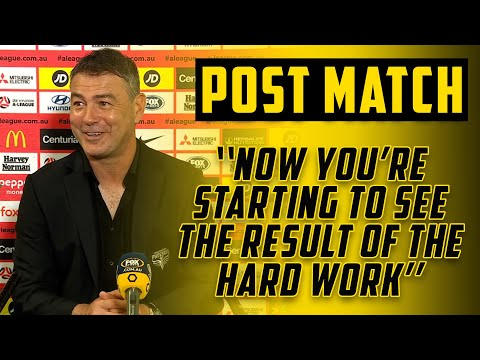POST MATCH | Mark Rudan on Win Over WSW