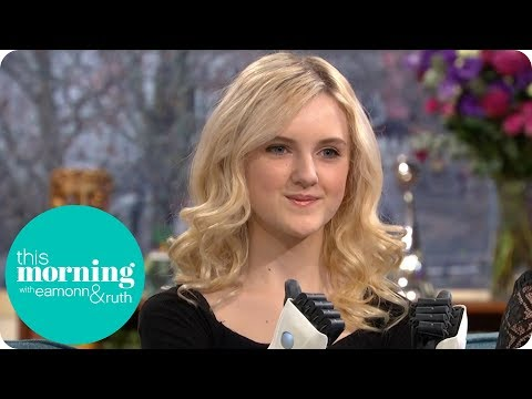 Tilly Lockey on Testing Her New Bionic Arms | This Morning