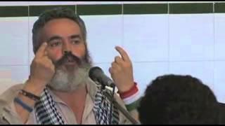 Juan Manuel Sánchez Gordillo en el Encuentro Interestatal 15M.