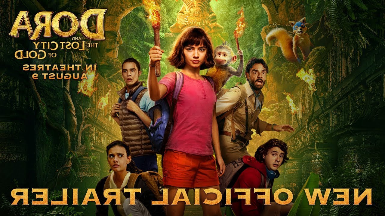 Download Dora and the Lost City of Gold (2019) - New Official Trailer - Paramount Pictures... IN REVERSE!