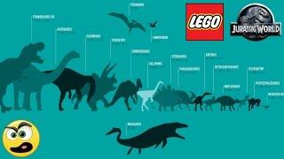 LEGO Jurassic World - Mostrando todos os Dinossauros