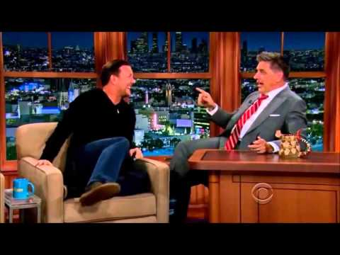 Ricky Gervais on Craig Ferguson - Hilarious Interview