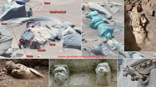 Ancient Aliens On Mars: Curiosity Spotted Carved Animal Statue and Strange Artifacts(For More Exclusive Information on UFO 1. http://areazone51ufos.blogspot.be/2015/01/ovni-et-extraterrestres-amateurs.html 2., 2015-01-09T15:22:27.000Z)