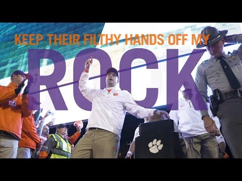 Howard's Rock & Running Down the Hill (Clemson Football Intro 2018)