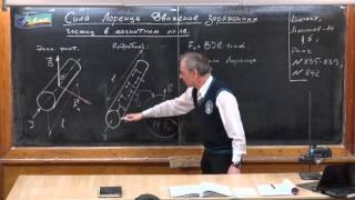 11.04 Сила Лоренца. Движение заряженных частиц в магнитном поле(Урок физики в Ришельевском лицее., 2016-04-11T08:50:32.000Z)