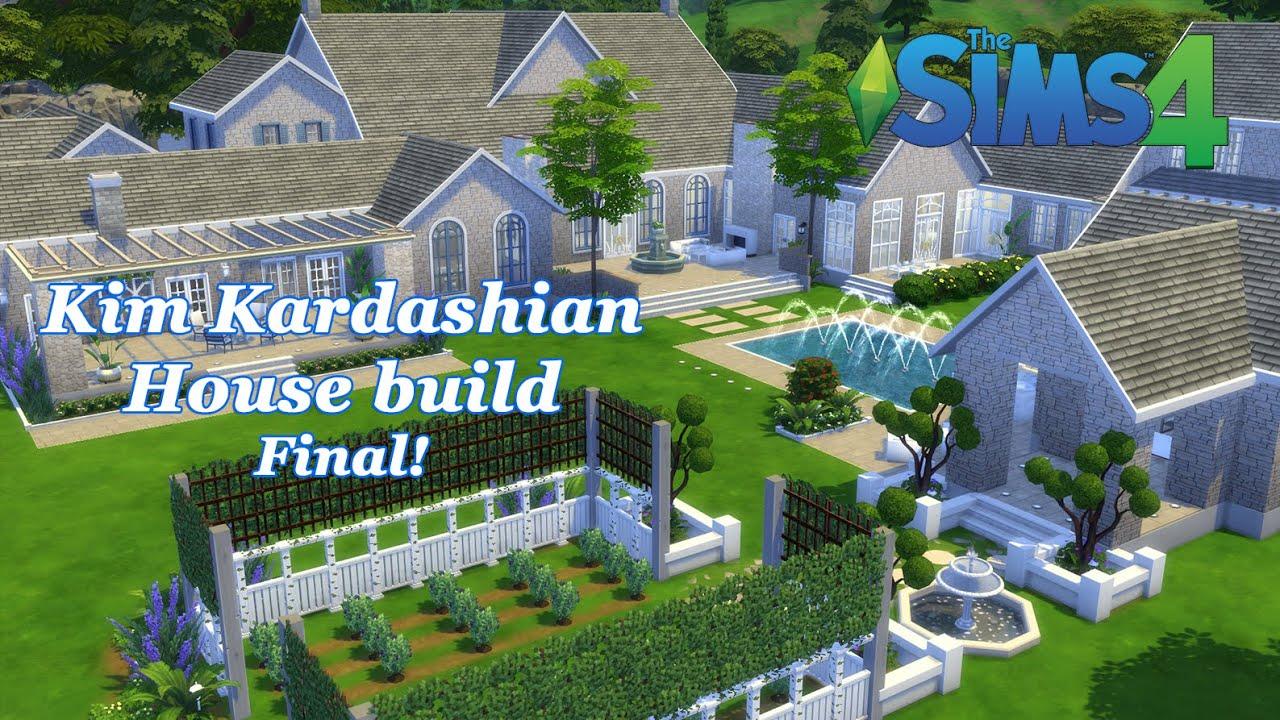 Urban treehouse sims 4 houses - The Sims 4 Kim Kardashian House Build House Tour Final Youtube