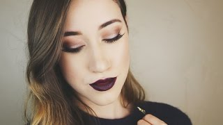 NEW YEAR'S EVE GLAM MAKEUP TUTORIAL | ALLIE G BEAUTY