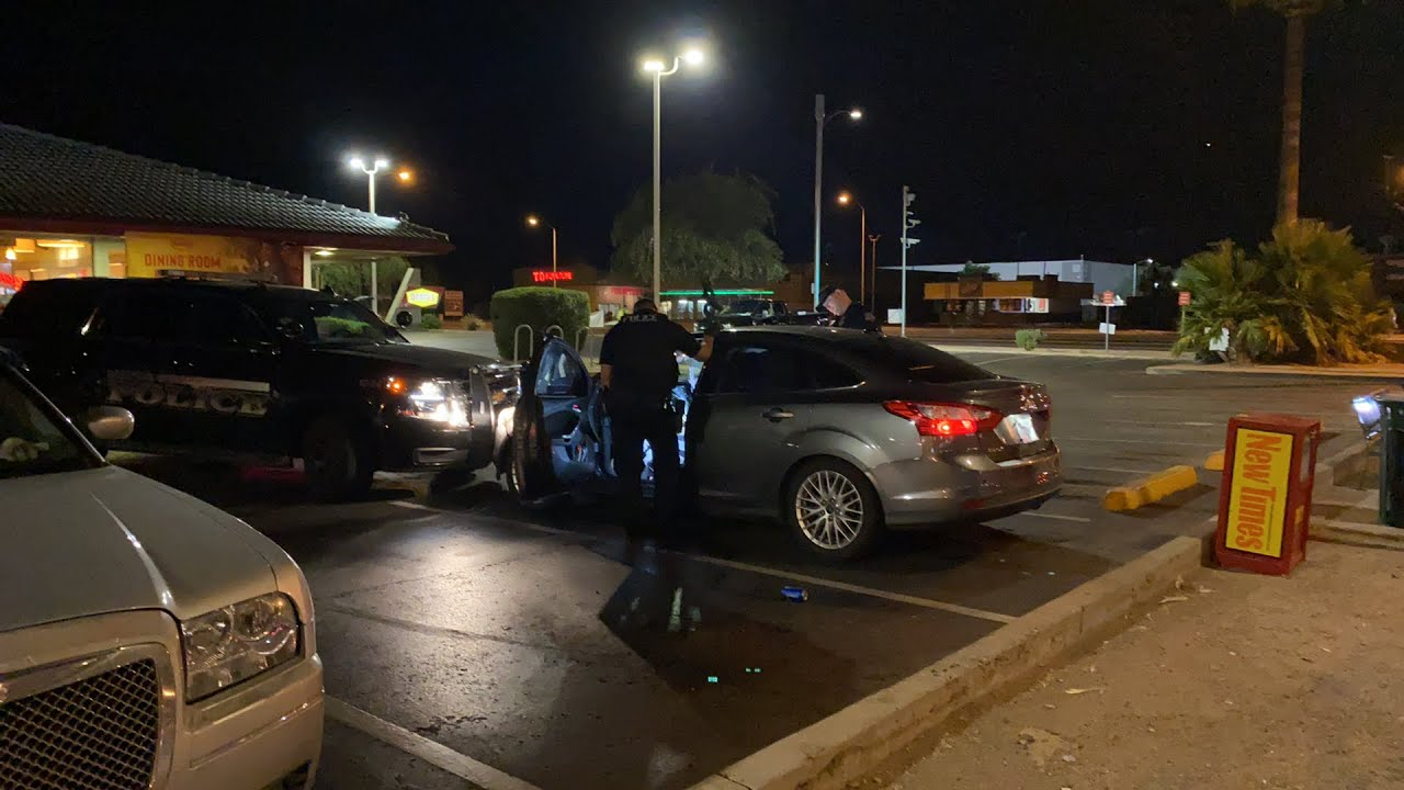 Lady asleep in her car looking for evidence Mesa PD