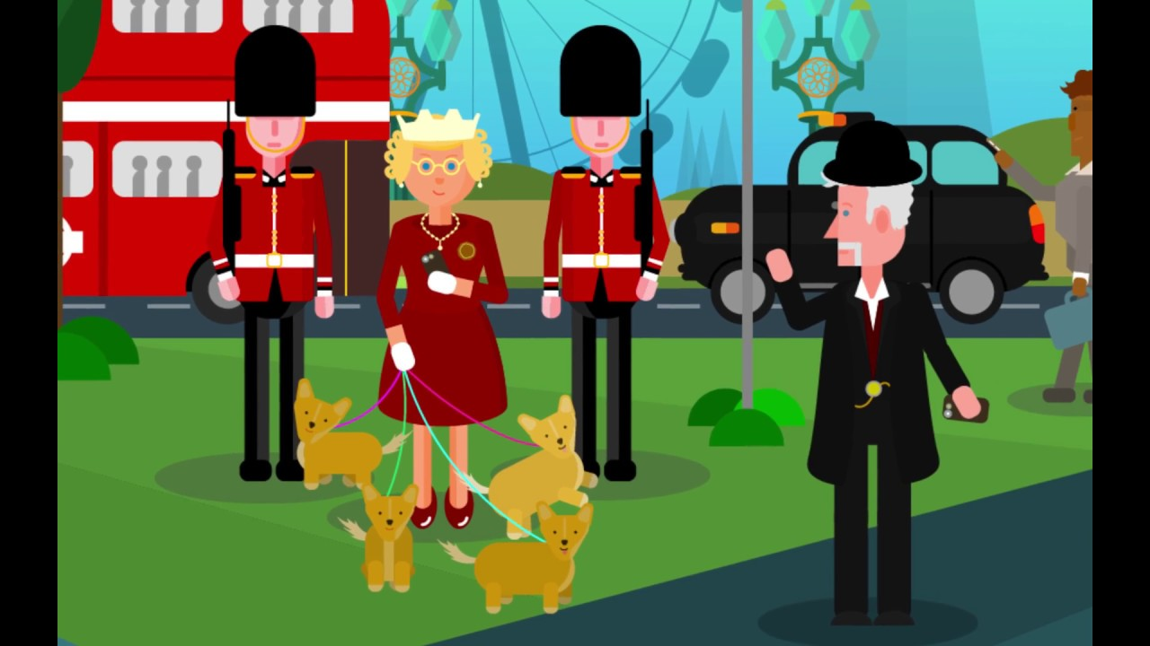 Flat Vector Characters \u0026 Environment Design in London - YouTube