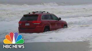 Watch Tornadoes, Heavy Rains From Dorian Hit The Carolinas   NBC News