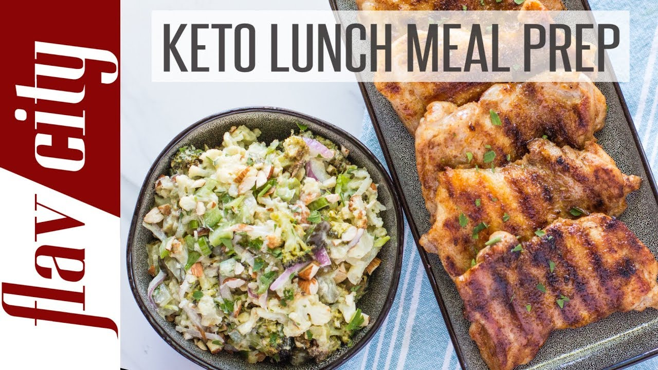 Keto Lunch Ideas For Work School Ketogenic Lunch Meal Prep Youtube