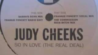Judy Cheeks - So In Love (The Real Deal) (Frankie Foncett Vocal Mix)