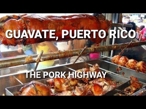 Exploring Puerto Rico 🇵🇷 - Guavate, Cayey   The Pork Highway