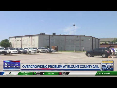 Overcrowding at Blount County Jail