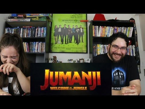 Jumanji WELCOME TO THE JUNGLE - Official Trailer 2 Reaction / Review