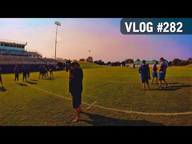 VLOG #282 / Filming & Photos @ Anadarko Football MEDIA DAY /   August 15, 2020