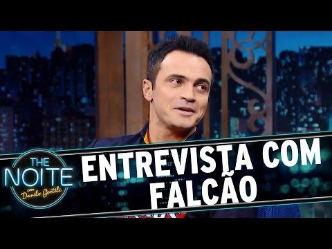 The Noite (15/06/16) - Entrevista com Falcão