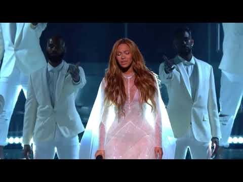 Take My Hand, Precious Lord feat  Beyoncé The 57th annual Grammy Awards Show