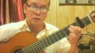 Hoài Cảm (Cung Tiến) - Guitar Cover by Hoàng Bảo Tuấn
