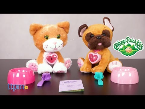Cabbage Patch Adoptimals Cat And Dog From Wicked Cool Toys