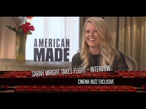 Sarah Wright takes flight in American Made
