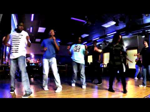"V.I.C. ""Wobble (remix)"" line dance"