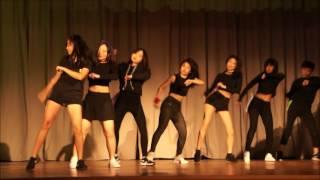 2016~2017年度 金文泰中學舞蹈比賽第四隊 SECRE