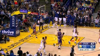 2nd Quarter, One Box Video: Golden State Warriors vs. Phoenix Suns