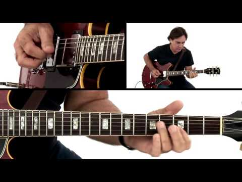Jazz Rock Guitar Lesson - Fusion Funk G7: 1 Performance - Carl Verheyen