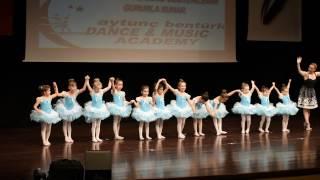 Aytunç Bentürk Dans Akademi gösteriler 2016  2-BALE 4 -6 YAŞ MİNİK ŞEKERLER