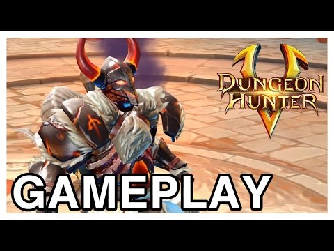 Dungeon Hunter 5 Gameplay & Free Fusion Booster Referral Code Swap! (iPad Gameplay)