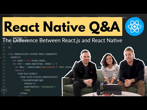 The Difference Between React.js and React Native + React Native Q&A || Crema thumbnail