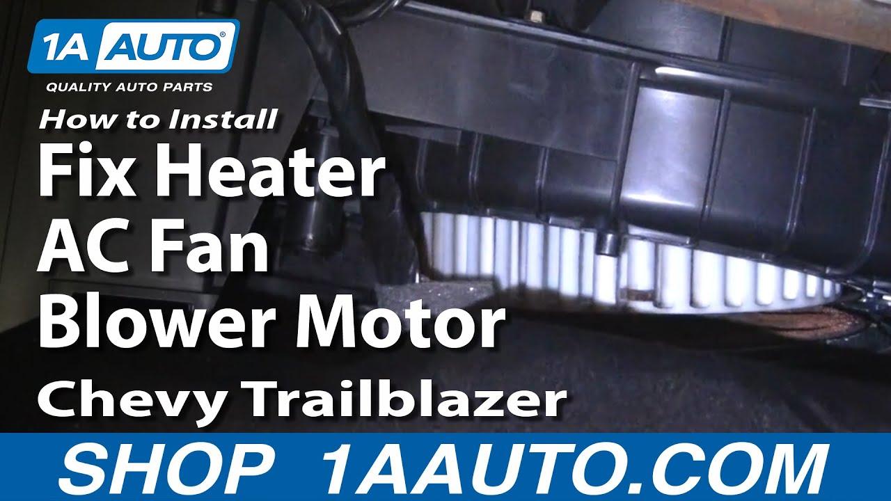 2006 Gmc Sierra Fuse Box Diagram How To Install Repair Replace Fix Heater Ac Fan Blower