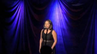 Amanda Gonzales singing ' Breathe'